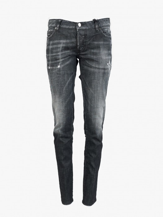 Dsquared2 black jennifer jeans