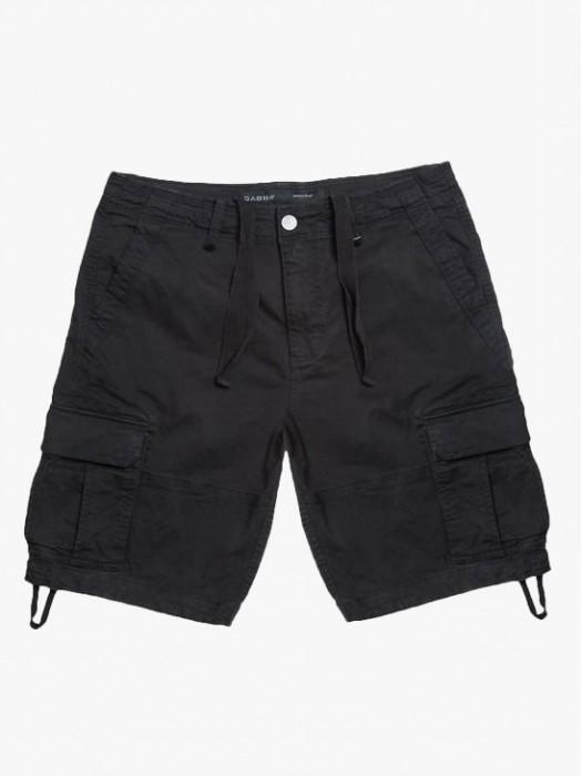 Gabba rufo cargo black shorts