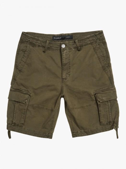 Gabba rufo cargo army shorts