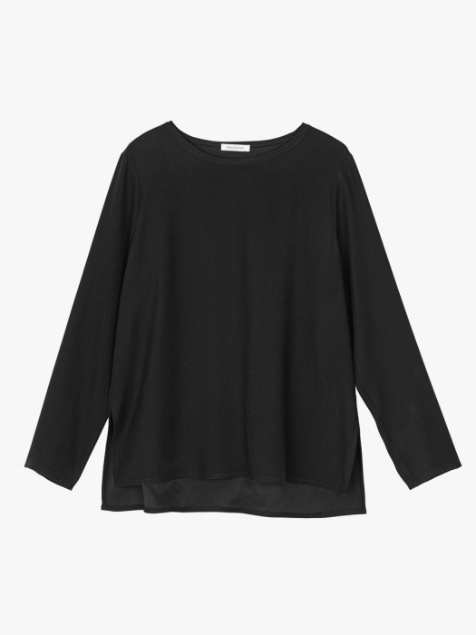 Philosophy twill fade out long sleeve top