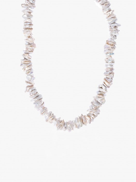 Hermina island rose pearl necklace