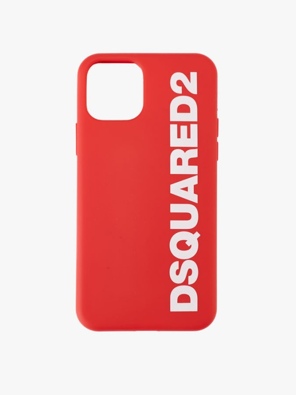 DSQUARED2 LOGO  iPHONE 11 PRO CAGE RED