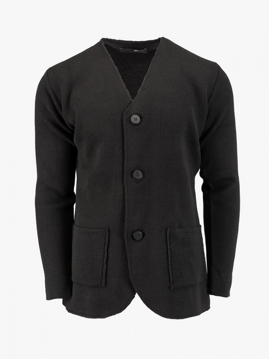 Tailor made knitted cardigan
