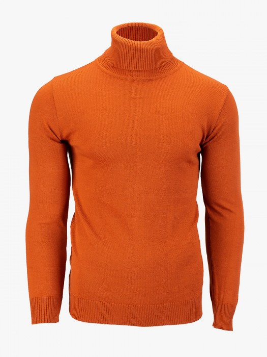 Tailor made turtleneck thin knitted blouse